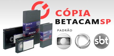 cópia betacam