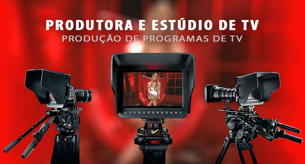 Produtora de vídeo, produtora de tv, programas de tv, estudio de tv, chroma key, producão de programas de tv, web tv