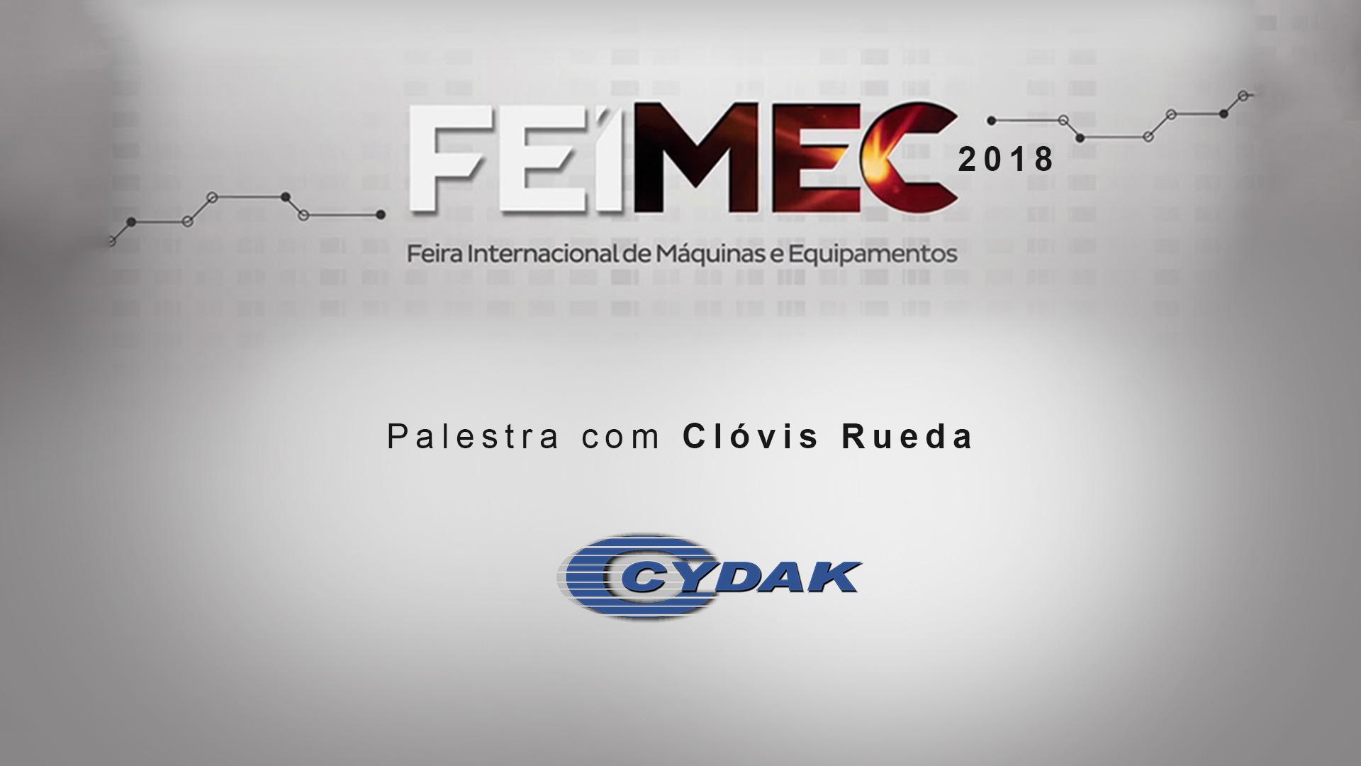 Filmagem de Palestra Feimec 2018 - Cydac