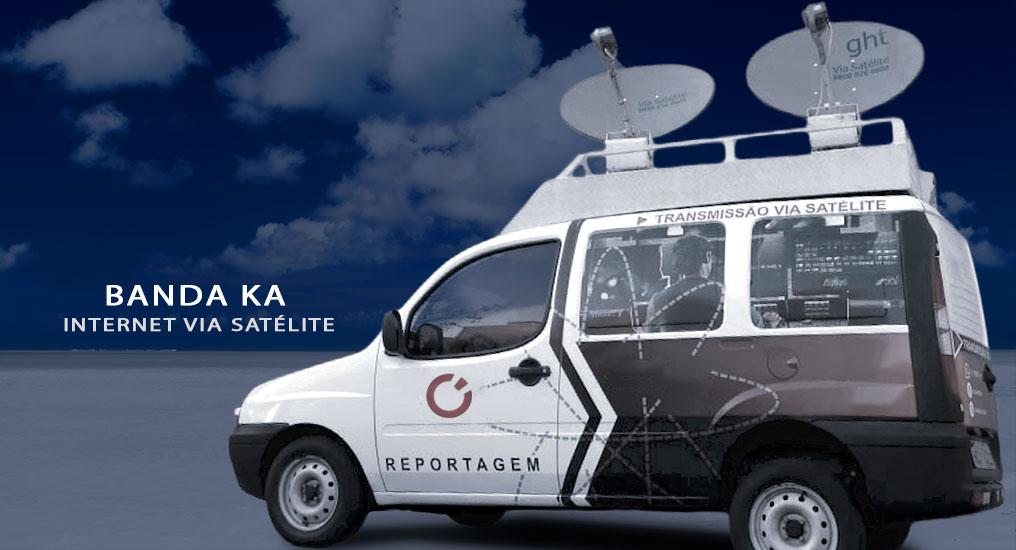 internet via satelite banda ka, mochilink 4g, unidade móvel de link de transmissao